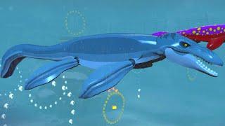 LEGO Jurassic World - Mosasaurus Arena Gameplay (Underwater Dinosaur)