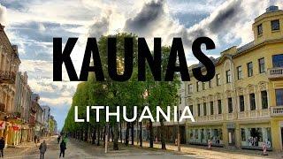 Kaunas, Lithuania. A look around and tour of the city.