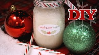 DIY Holiday Candy Cane Hand Scrub | cutepolish