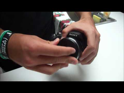 How to Properly Mount a Lens Cap on Sony DSC-HX100V