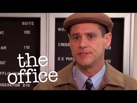 Jim Carrey Interviews For Regional Manager  - The Office US