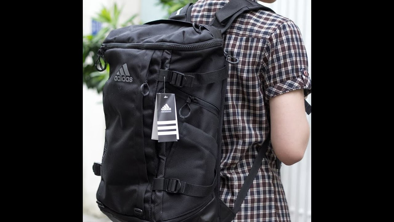 Review Balo Adidas OPS 30 Rucksack - YouTube 37dd62d045