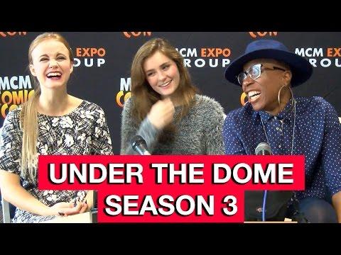 Under The Dome   Grace Victoria Cox, Mackenzie Lintz & Aisha Hinds