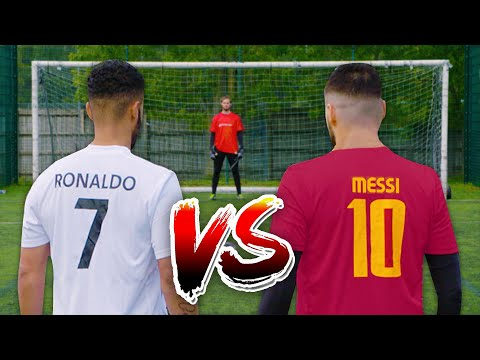MESSI VS RONALDO | PENALTY CHALLENGE 🎯 Thumbnail