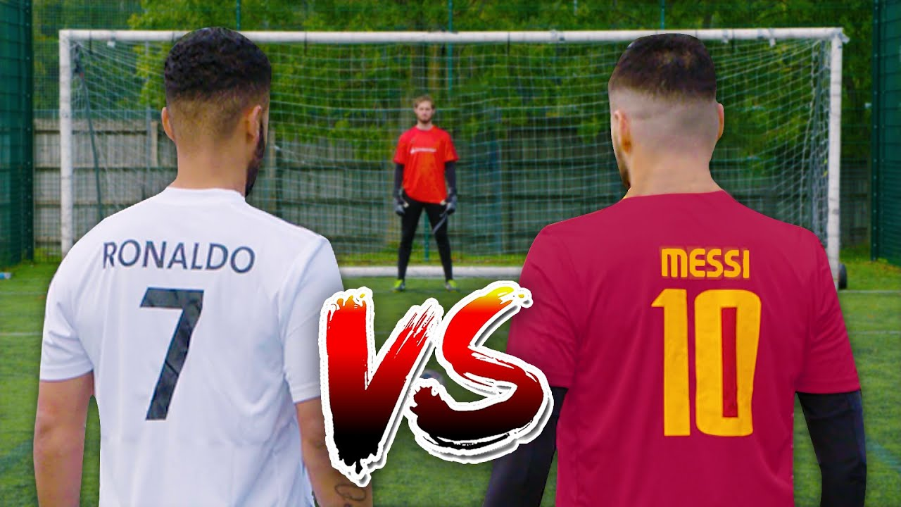 MESSI VS RONALDO | PENALTY CHALLENGE 🎯