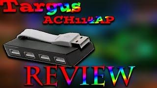 TARGUS 4 PORT USB HUB REVIEW ENGLISH