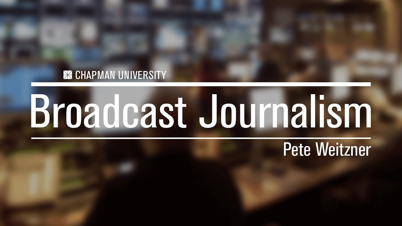 broadcast journalism essay Below is an essay on broadcast journalism from anti essays, your source for research papers, essays, and term paper examples journalism is the practice of investigation and reporting of events, issues, and trends to a broad audience.