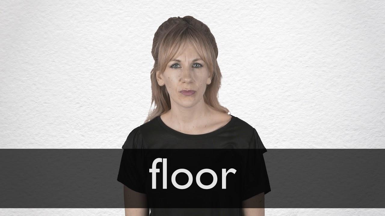 Floor Synonyms Collins English Thesaurus