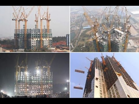 Chinese Build 57- Storey Skyscraper In 19 Days