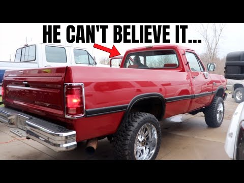 GIVING A FAN HIS DREAM CUMMINS TRUCK!!! - LNP Diesel Giveaway #3