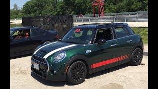 First drive in Mini Cooper S at Autobahn raceway