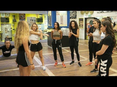 Maccabi dance team 2018-19: First rehearsal
