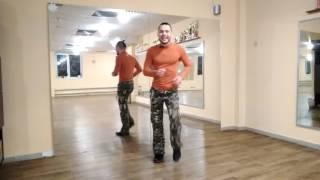 5. ЗУМБА фитнес . Базовые шаги ЗУМБЫ (меренге  шаг на месте)