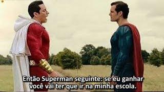 SHAZAM VS SUPERMAN! Como Aconteceu Encontro do Shazam vs Superman?