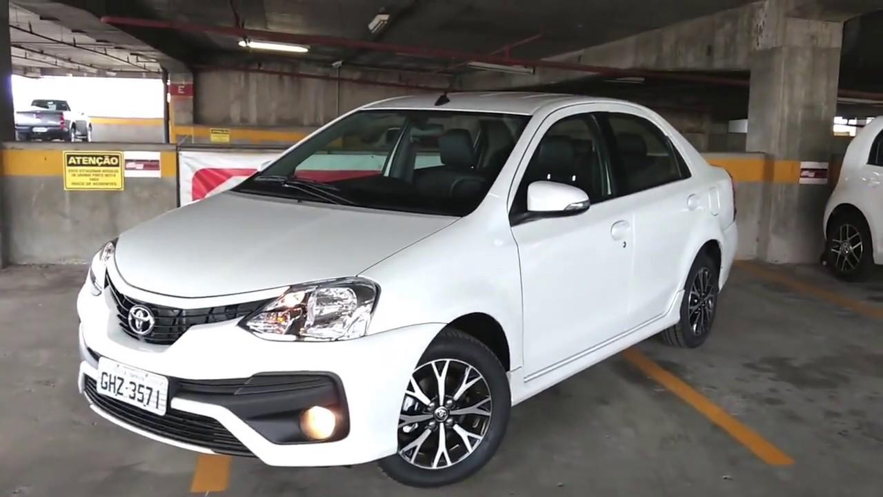Toyota Etios Sedan Platinum - Live QR - YouTube