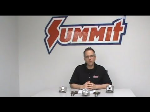 Pistons and Engine Compression Ratio - FAQ - Summit Racing Quick Flicks
