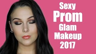 Sultry Glam Prom Makeup Tutorial 2017
