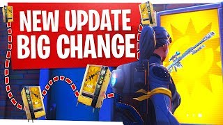 This NEW UPDATE will change how you play Fortnite
