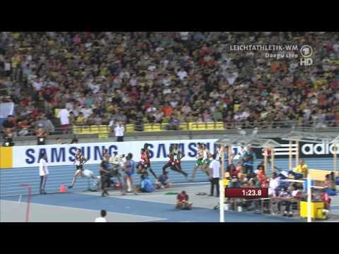 1500 Metres men Final IAAF World Championships Daegu 2011