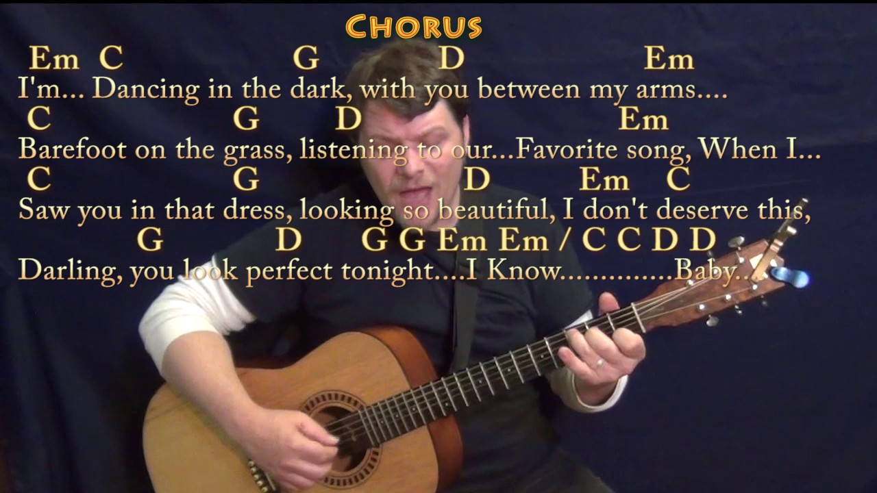 Perfect (Ed Sheeran) Fingerstyle Guitar Cover Lesson In G