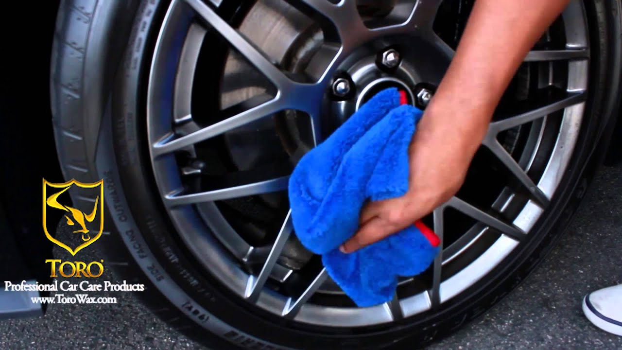 how to keep rims clean