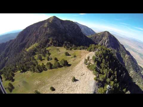 106 Mile Paramotor Flight To Mt Nebo!! Powered Paragliding Extreme Capability With SUPERDELL!!
