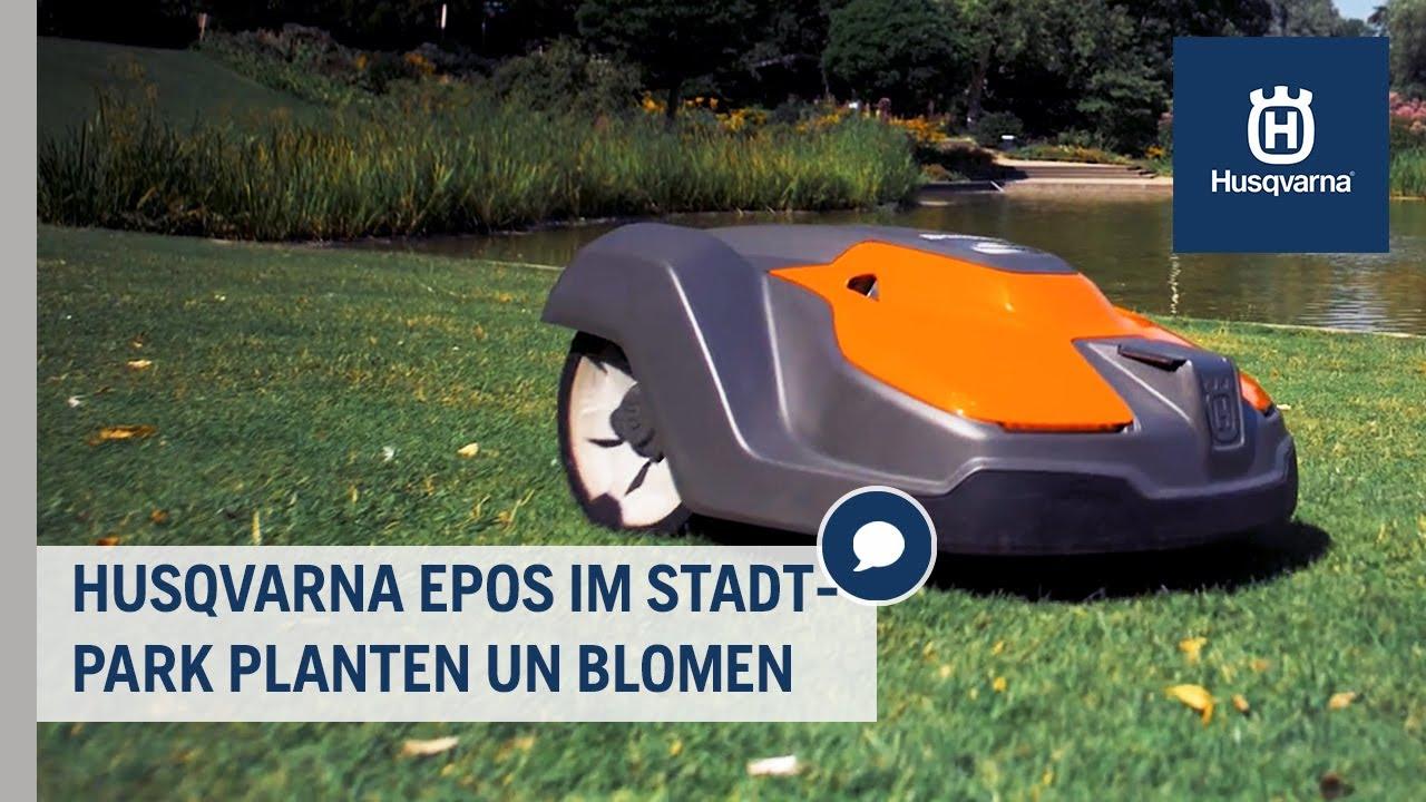 Husqvarna Epos: Kabelfrei mähen im Stadtpark Planten un Blomen - ein Erfahrungsbericht | Grünflächen