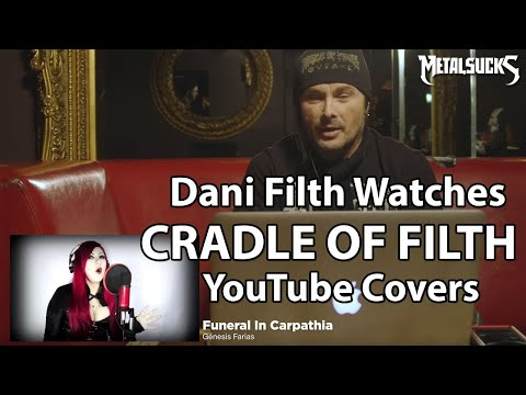 Dani Filth Watches CRADLE OF FILTH Fan YouTube Vocal Covers | MetalSucks