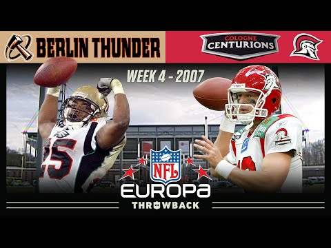 EPIC Comeback in Cologne! (Berlin Thunder vs Cologne Centurions Week 4, 2007)