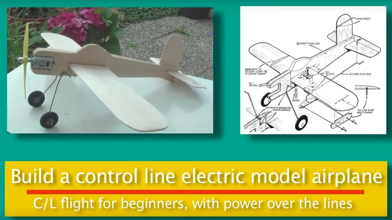 electric control line model aircraft youtube