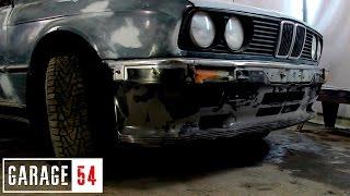 Кузовные работы по BMW E30, устанавливаем ОБВЕСЫ