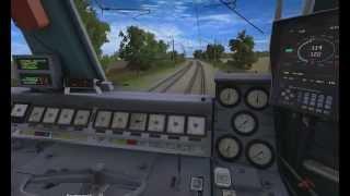 Электровоз ЧС4Т-519 - Trainz Simulator 2012(Trainz Simulator - трёхмерная видеоигра — симулятор железной дороги, созданная австралийской игровой студией..., 2014-10-17T16:51:03.000Z)