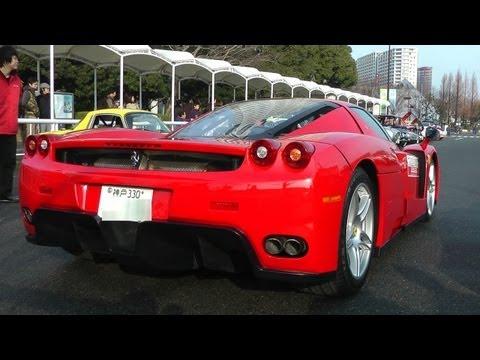 Ferrari Enzo エンツォ・フェラーリ ガルウィングドア開閉~エンジン始動