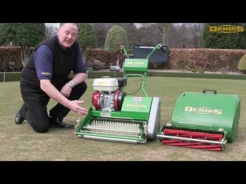 Bowling Green Maintenance With Bowls Scotland | Dennis Mowers FT Series