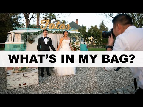 Wedding Photography Equipment - What's In My Camera Bag?