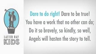 Dare to Do Right - Karaoke