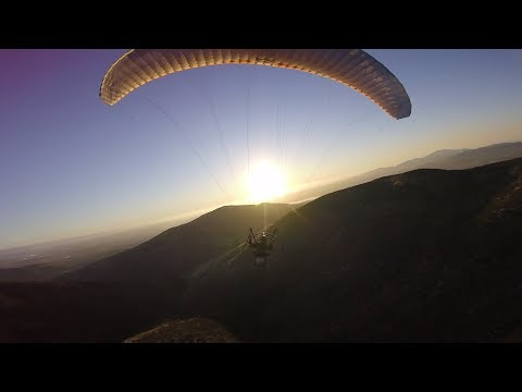 Amazing Paramotor Exploring San Diego, Fly to Spring Valley