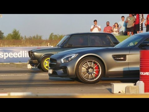 ВАЗ 2107 Турбо Amag vs AMG GT vs Porsche 911 GT3 vs 911 Turbo S