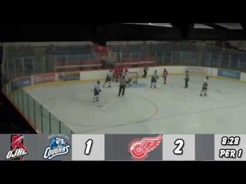 Burlington Cougars at Hamilton Red Wings Highlights Sept 15 2014