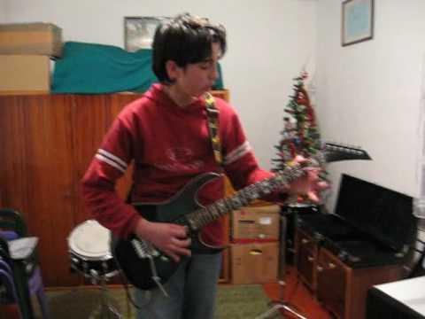 Željko Vujović - The young guitarist from Prilike