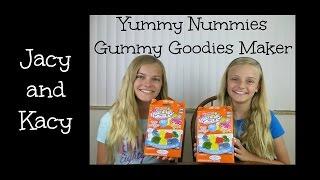 Yummy Nummies Mini Kitchen Magic ~ Gummy Goodies Maker Review ~ Jacy and Kacy