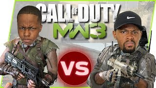 1v1 w/ My Annoying Little Brother! Who Has The Best Gun Skills?! - Call of Duty MW3 Gameplay
