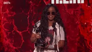 Megan Thee Stallion & H.E.R. Acceptance Speeches | 2021 BET Awards