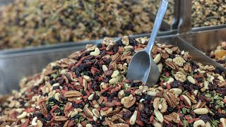 Johnvince foods is toronto's bulk food heaven, with a unbelievable variety of candies, house-roasted nuts, chocolates, and granola. find them at 555 steeproc...