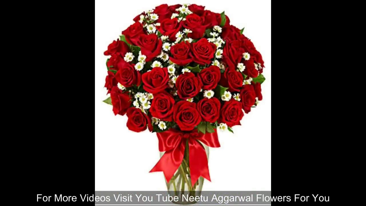 Beautiful Roses For Youflowers For You Youtube