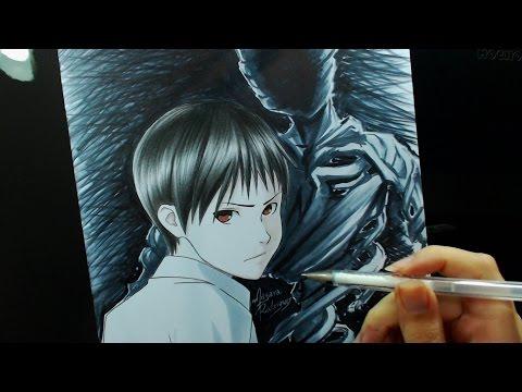 Speed Drawing - Nagai Kei (Ajin)