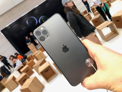 Старт продаж нового IPhone 11, 11 PRO. Первые впечатления, очередь в Apple Store
