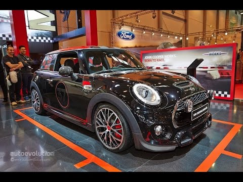 2015 Mini Cooper S With Jcw Tuning Kit 2014 Essen Motor Show Live