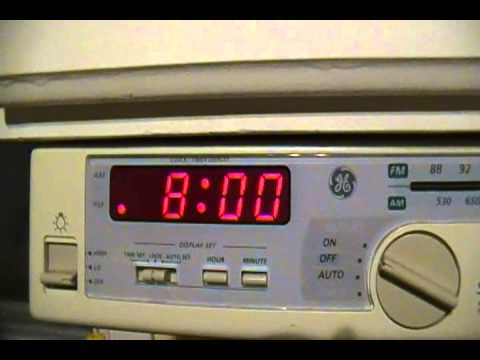 300 Ge Spacemaker Kitchen Multifunction Clock Radio
