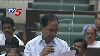 CM KCR Responds On KBR Park Fire Incident : TV5 News